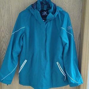 Zeroxposur winter coat with detachable liner.